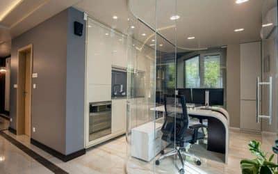 Интериор на офис от най-висока класа